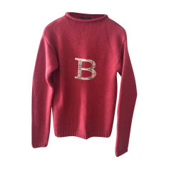 Sweater BURBERRY Red, burgundy