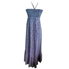 Robe longue TARA JARMON Violet, mauve, lavande