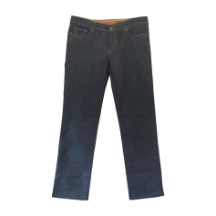Jeans dritto D&G Blu, blu navy, turchese