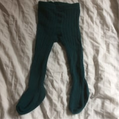 Tights ZARA Green