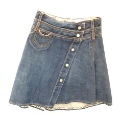 Skirt BURBERRY Blue, navy, turquoise