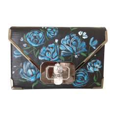 Leather Clutch MARCHESA Black