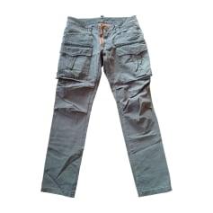 Pantalon slim DSQUARED Kaki
