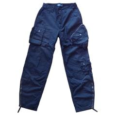 Pantalon large RALPH LAUREN Noir