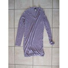Robe courte ARMANI Violet, mauve, lavande