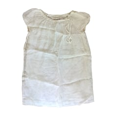 Dress BONPOINT White, off-white, ecru