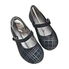 Buckle Shoes BURBERRY Gray, charcoal