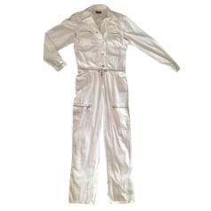 Overall ARMANI JEANS Weiß, elfenbeinfarben