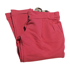 Pants BURBERRY Pink, fuchsia, light pink