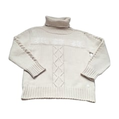 Sweater DIOR White, off-white, ecru