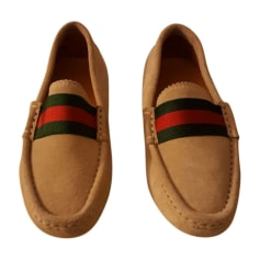 Loafers GUCCI Beige, camel