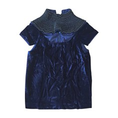Top, T-shirt MANISH ARORA Blue, navy, turquoise