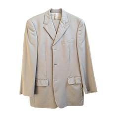 Costume complet LANIFICIO F.LLI CERRUTI. Blanc, blanc cassé, écru