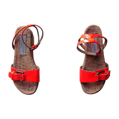 Sandals STELLA MCCARTNEY Orange