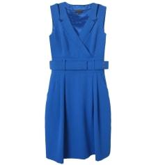 Robe mi-longue ADOLFO DOMINGUEZ Bleu, bleu marine, bleu turquoise
