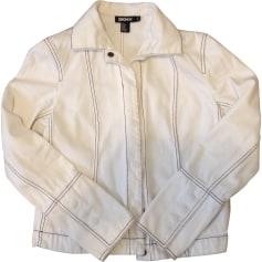 Jacket DKNY White, off-white, ecru