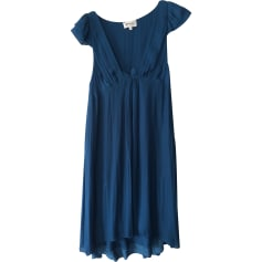 Robe mi-longue ATHÉ VANESSA BRUNO Bleu, bleu marine, bleu turquoise