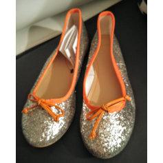 Ballet Flats MANGO Silver