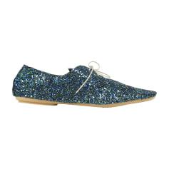 Chaussures à lacets  ANNIEL Bleu, bleu marine, bleu turquoise