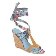 Wedge Sandals DESIGUAL Multicolor