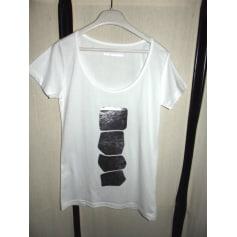 Top, tee-shirt ANGEL SCHLESSER BLANC / ARGENT