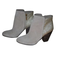 High Heel Ankle Boots GUESS Gray, charcoal