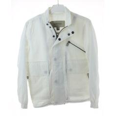 Jacket BURBERRY White, off-white, ecru