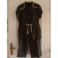 Tailleur pantalon BLEU DE SYM Marron