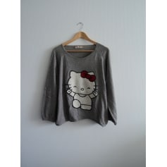 Pull HELLO KITTY BY VICTORIA COUTURE Gris, anthracite