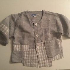 Blouse, Short-sleeved Shirt Jean Bourget
