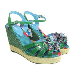 Sandales compensées DESIGUAL Multicouleur