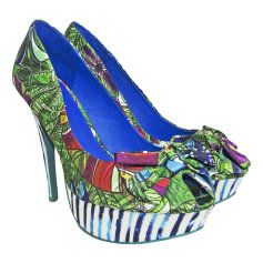 Peep-Toe Pumps DESIGUAL Multicolor