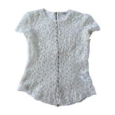 Top, tee-shirt NINA RICCI Blanc, blanc cassé, écru
