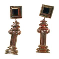 Boucles d'oreille AZZARO Doré, bronze, cuivre