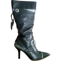 Stivali con tacchi POLLINI Nero