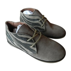 Chaussures à lacets KICKERS Gris, anthracite