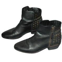 Bottines & low boots à talons PASTELLE Noir