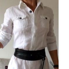 Robe mi-longue 0039 ITALY Blanc, blanc cassé, écru