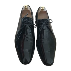 Lace Up Shoes BARKER Black