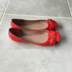 Ballerines BELLE BY SIGERSON MORRISON Rouge, bordeaux