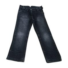 Straight Leg Jeans DIOR Black