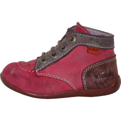 Ankle Boots KICKERS Pink, fuchsia, light pink