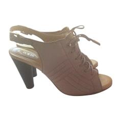 Sandales à talons TOD'S Violet, mauve, lavande