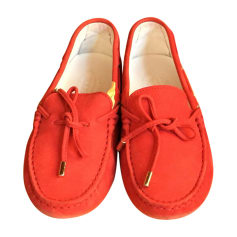 Loafers TOD'S Red, burgundy