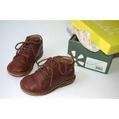 Chaussures à lacets ASTER Marron