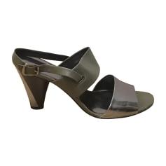 Sandali con tacchi MARC JACOBS Cachi