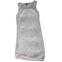 Robe mi-longue 1.2.3. Blanc, blanc cassé, écru