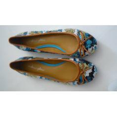 Ballet Flats MELLOW YELLOW Blue, navy, turquoise
