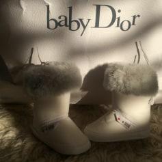 Stivaletti BABY DIOR Bianco, bianco sporco, ecru