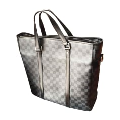 Shopper LOUIS VUITTON Grau, anthrazit
